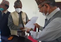 भीरकोट सेवा समाज काठमाण्डौंले गर्यो नगरपालिकालाई १ लाख ७० हजार भन्दा बढि सहयोग ।