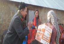 सीपमूलक तालीमले महिलाहरुलाई आत्मनिर्भर बनाउछ : नगरप्रमुख गिरी ।